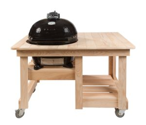 TABLE COMPTOIR EN CYPRÈS POUR PRIMO OVAL LARGE 300 00613-0