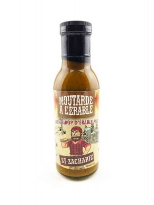 SAUCE MOUTARDE À L'ÉRABLE ST-ZACHARIE-0